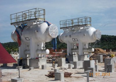 Provision of Construction Pipe Support and Vessel Foundation at Bintulu Compressor Station