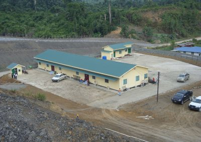 Construction Works and Installation & Commissioning of HVAC System (Split Unit) and Ducting Works for Temporarily Facilities at Camp 6 and Facilities Management Services