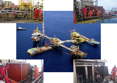 Project Replacement Condensing Coil Unit @ Offshore SKO