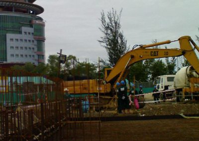 Construction of Cooling Tower and RC Works of Pump Sump