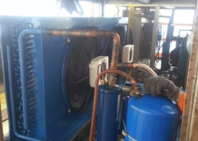 Project Replacement Chiller & Freezer Unit @ Offshore SKO