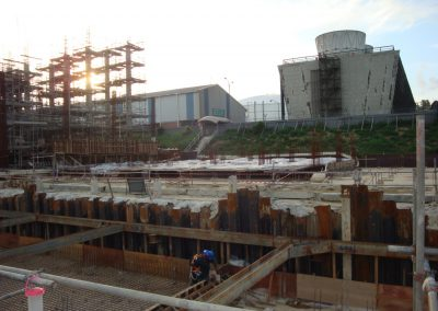 Provision of Construction Pipe Support Foundation for ABF New Cooling Tower Project